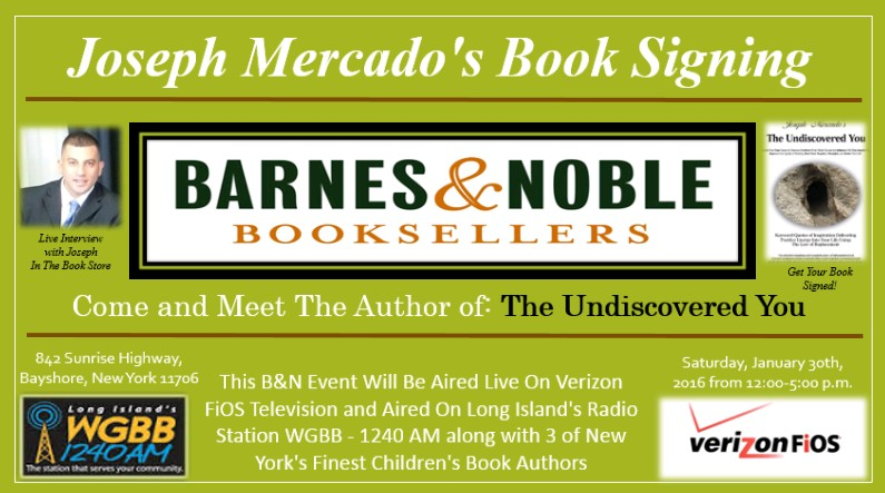 Joseph Mercado-Barnes and Noble